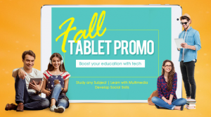 Fall tablet promo gearbest