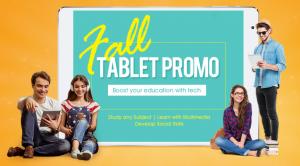 Fall tablet promo gearbest