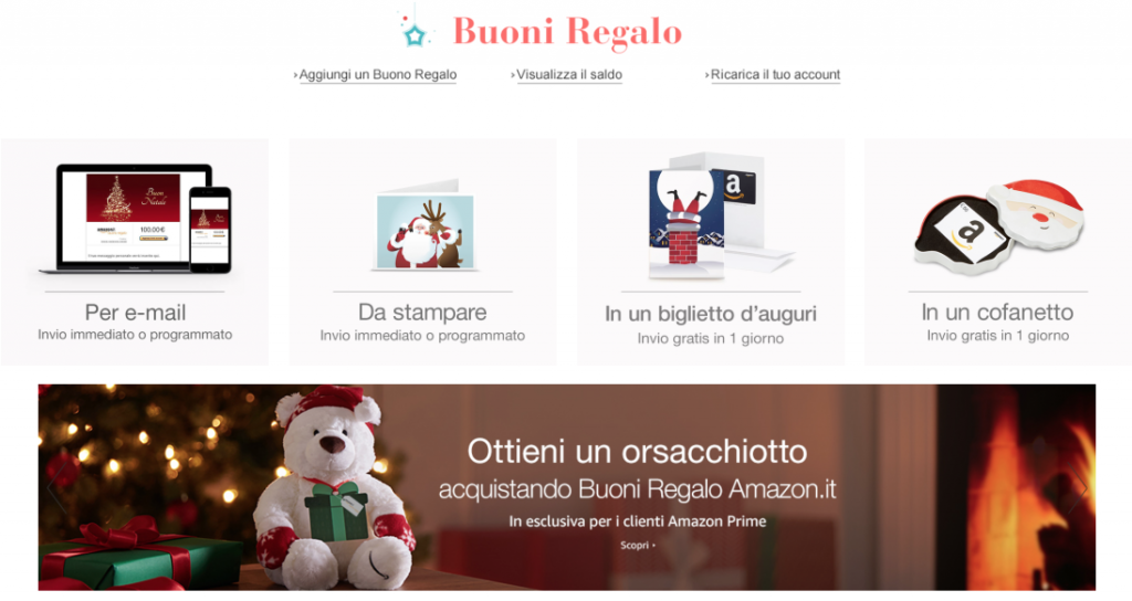 Amazon.it: Buoni regalo