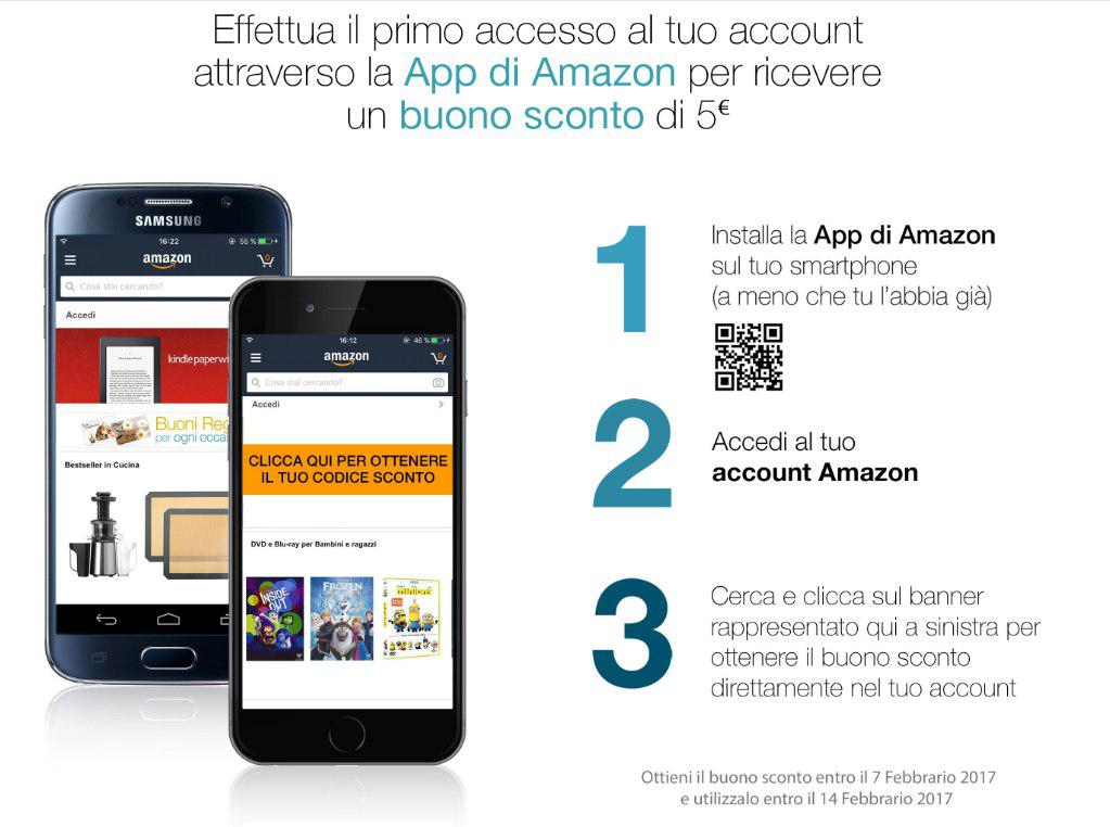 Amazon App 5 Euro