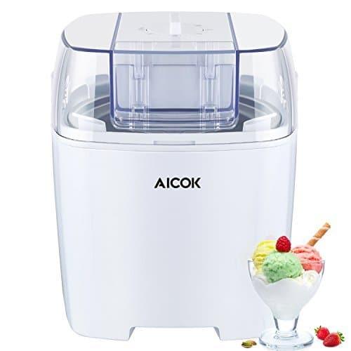 NUOVO 1.5 LITRI GELATIERA Sorbet /& Frozen Yogurt Machine Free Ricetta Guida