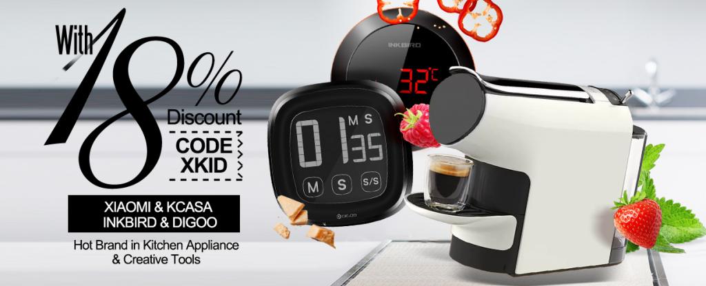 Grandi offerte di Banggood per la cucina smart! Oggi tanti coupon ...