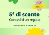 5€ di sconto su Amazon per i più fortunati con il coupon SCONTO5