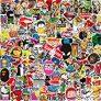 Kit Adesivi [150-PCS] Q-Window Graffiti Stickers Adesivo Decalc…