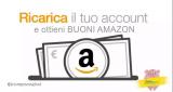 Torna la super promo: ricarica il tuo account Amazon con 60€ e ricevi un buono sconto di 6€
