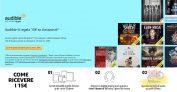 Combo di promo Amazon Audible: un mese gratis, 15 euro di buoni Amazon e 12 mesi scontati del 20%!