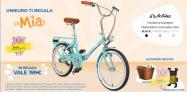 """Super promozione Unieuro: in regalo la bicicletta """"LaMia"""" con l'acquisto di prodotti selezionati!"""