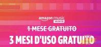 Super offerta Amazon Music Unlimited: 3 Mesi d'uso gratuito per i nuovi iscritti
